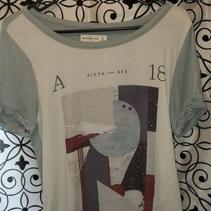 Abercrombie & Fitch short sleeve.